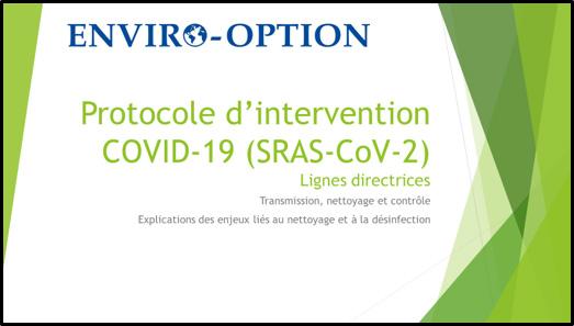 COVID-19 PRÉVENTION INTERVENTION